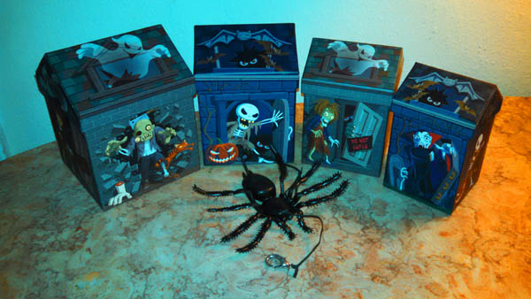 Haunted House Nested Boxes