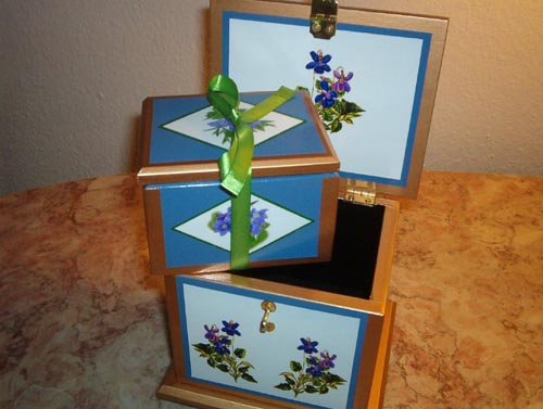 Oriental Twin Nested Boxes